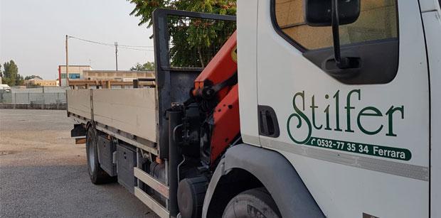 Servizio di consegna con nostri mezzi